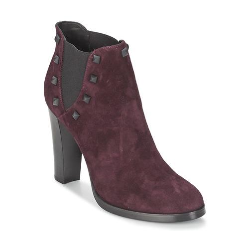Zapatos Mujer Botines Alberto Gozzi CAMOSCIO NEIVE Burdeo