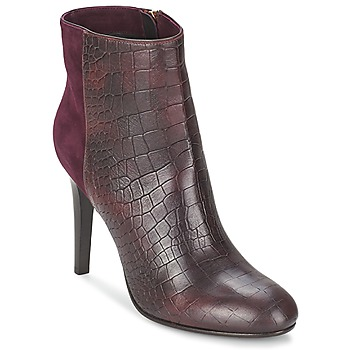 Zapatos Mujer Botines Alberto Gozzi GRINGO MANDORLA Burdeo