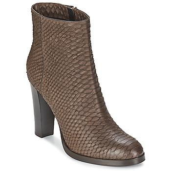 Zapatos Mujer Botines Alberto Gozzi MADRID T MORO Marrón
