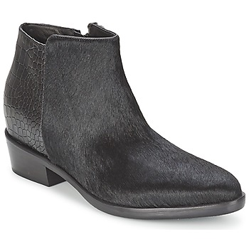 Zapatos Mujer Botas de caña baja Alberto Gozzi PONY NERO Negro