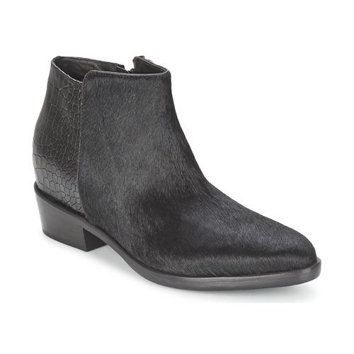 Casual salvaje Zapatos especiales Alberto Gozzi PONY NERO Negro