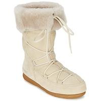 Zapatos Mujer Botas de nieve Moon Boot MOON BOOT W.E. VAGABOND HIGH Beige