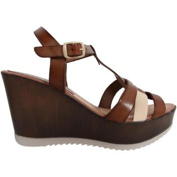 Zapatos Mujer Sandalias Cumbia 30124 R1 Marr?n