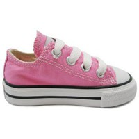 Zapatos Niña Zapatillas bajas Converse Infant All Star Ox rosa rosa