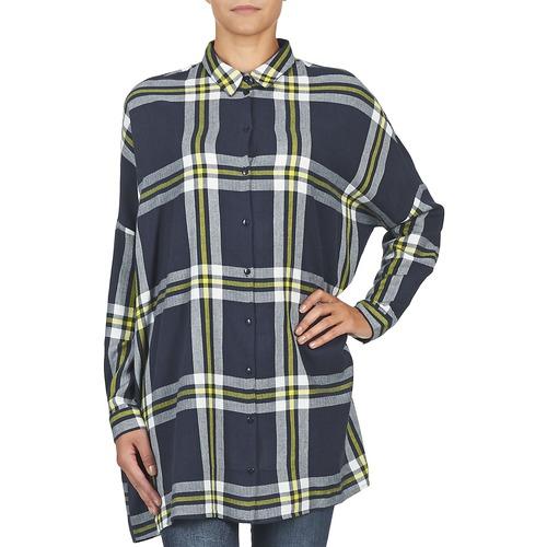 Erik May Noisy Mujer Marino Camisas Textil uwOZPklXTi