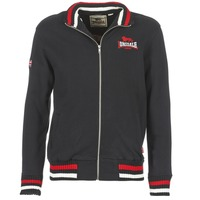 textil Hombre sudaderas Lonsdale DOVER Negro