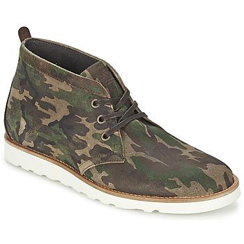 Zapatos Hombre Botas de caña baja Wesc LAWRENCE Camuflaje