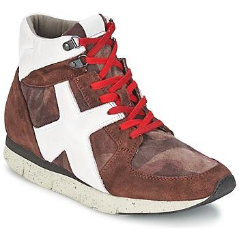 Zapatos Mujer Zapatillas altas OXS JAZZ Burdeo