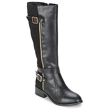 Zapatos Mujer Botas urbanas Moony Mood IMMA Negro