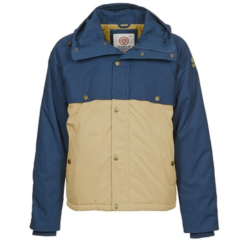 textil Hombre parkas Franklin & Marshall JKMVA034 Azul / Beige