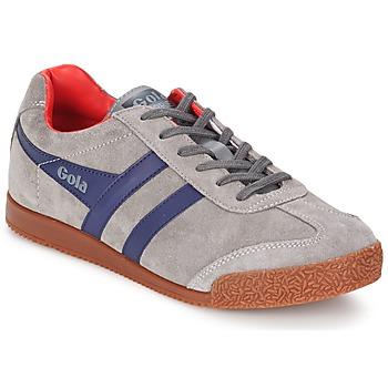 Zapatos Hombre Zapatillas bajas Gola HARRIER Gris / Marino / Rojo