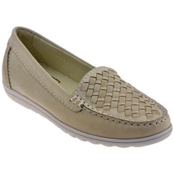 Zapatos Mujer Mocasín Keys  Beige