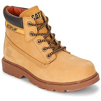 Zapatos Niños Botas de caña baja Caterpillar COLORADO PLUS Miel