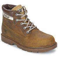 Zapatos Niños Botas de caña baja Caterpillar COLORADO PLUS Beige