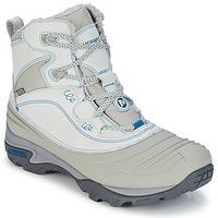 Zapatos Mujer Senderismo Merrell SNOWBOUND MID WTPF Gris