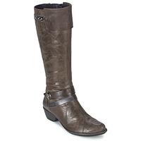 Zapatos Mujer Botas urbanas Dorking NINA Gris
