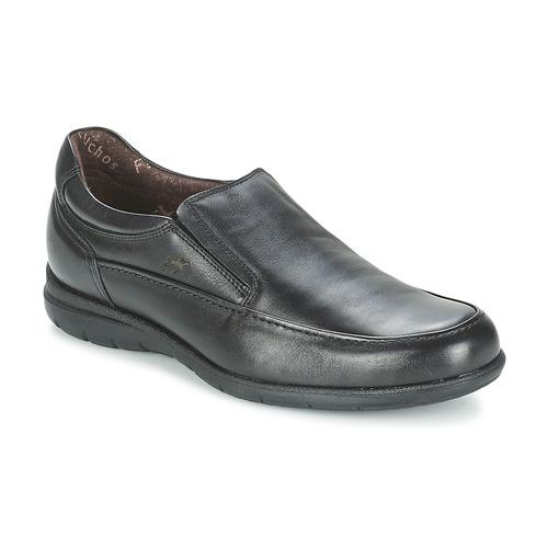 Fluchos LUCA Negro - Envío gratis | ! - Zapatos Mocasín Hombre