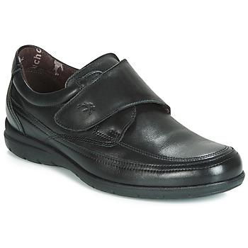 Zapatos Hombre Mocasín Fluchos LUCA Negro