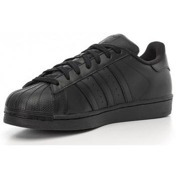 Zapatos Hombre Zapatillas bajas adidas Originals Stan Smith J negro