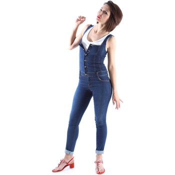 textil Mujer Monos / Petos Denny Rose 63DR12017 Jeans Mujeres Blue