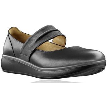 Zapatos Mujer Bailarinas-manoletinas Joya DELIA CAVIAR NEGRO