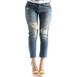textil Mujer Pantalones cortos Denny Rose 63DR12012 Jeans Mujeres Blue