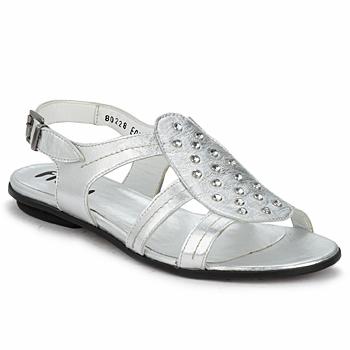 Zapatos Mujer Sandalias Fidji BARRETA Silver