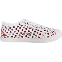 Zapatos Niña Zapatillas bajas Kappa 303JAG0 KEYSY Blanco