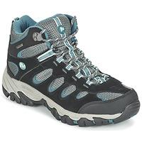 Zapatos Mujer Senderismo Merrell RIDGEPASS MID GTX Gris