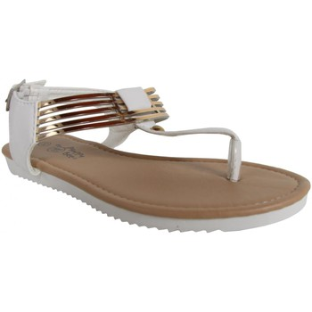 Zapatos Niña Chanclas Happy Bee B127060-B4600 Blanco