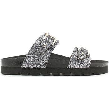 Zapatos Mujer Zuecos (Mules) Grunland CB0640 Sandals Mujeres Antra-silver Antra-silver