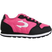 Zapatos Niños Zapatillas bajas John Smith CONTE 15I FUCSIA-NEGRO Rosa