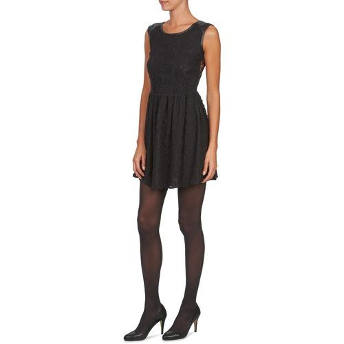 Textil Negro Vestidos Yumi Mujer Kimi Cortos 354ARjqL