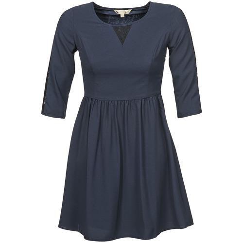textil Mujer vestidos cortos Yumi KINCHIKA Marino