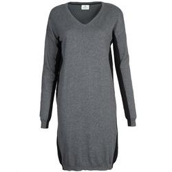 textil Mujer vestidos cortos Chipie MONNA Gris / Negro