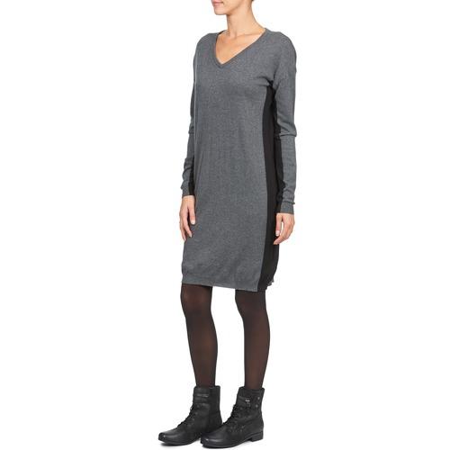 Cortos Monna Mujer GrisNegro Textil Chipie Vestidos v67gYbyf