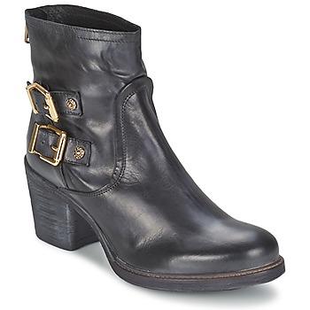 Zapatos Mujer Botines Meline LODU Negro