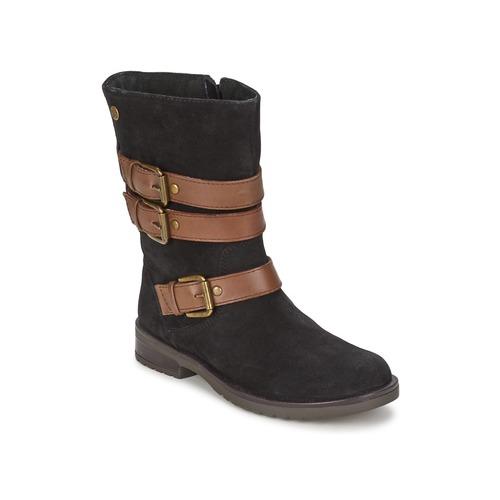 Zapatos Niña Botas urbanas Gioseppo HALIFAX Negro