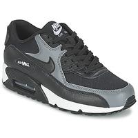 Zapatos Mujer Zapatillas bajas Nike AIR MAX 90 W Negro / Gris