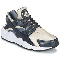 Zapatos Mujer Zapatillas bajas Nike AIR HUARACHE RUN W Gris / Beige