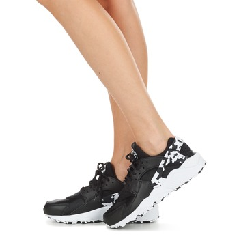 Nike AIR HUARACHE RUN SE W Negro / Blanco