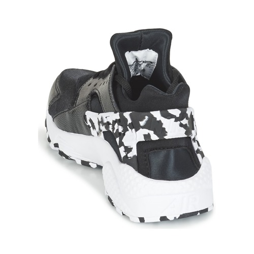 Zapatos casuales salvajes Zapatos especiales Nike AIR HUARACHE RUN SE W Negro / Blanco