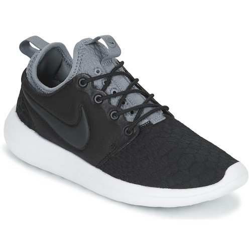Zapatos Mujer Zapatillas bajas Nike ROSHE TWO SE W Negro / Gris