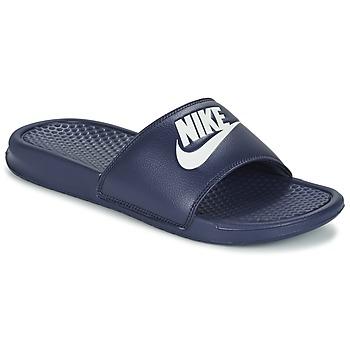 Zapatos Hombre Chanclas Nike BENASSI JDI Azul / Blanco