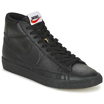 Zapatos Hombre Zapatillas altas Nike BLAZER MID Negro