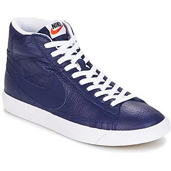 Zapatos Hombre Zapatillas altas Nike BLAZER MID Azul