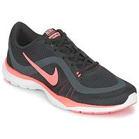 Zapatos Mujer Fitness / Training Nike FLEX TRAINER 6 W Negro / Rosa