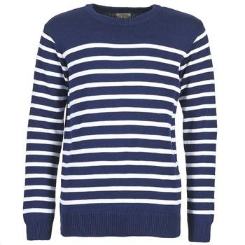 textil Hombre jerséis Casual Attitude FARCIELLE Marino / Blanco