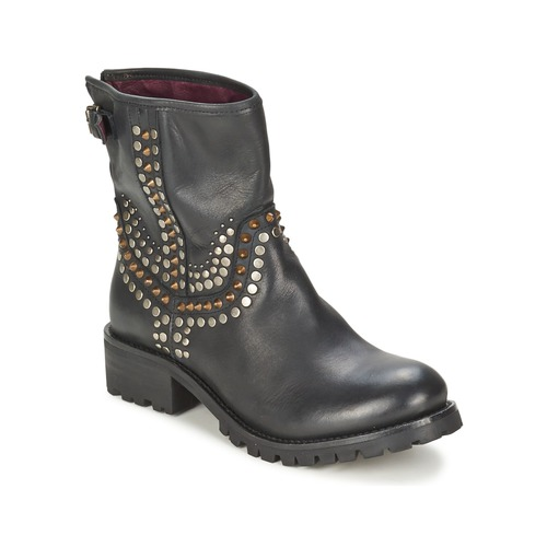 modelo más vendido de la marcaIkks SEATTLE-PREMIUM Negro - Envío gratis Nueva promoción - Zapatos Botas de caña baja Mujer  Negro