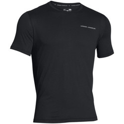 textil Hombre camisetas manga corta Under Armour Charged cotton microthread ss Negro